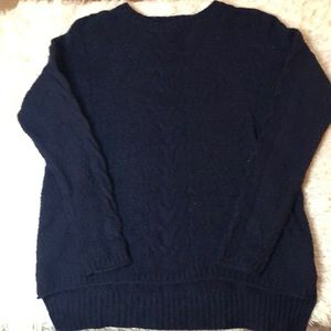 Madewell crew cable knit sweater size Xs